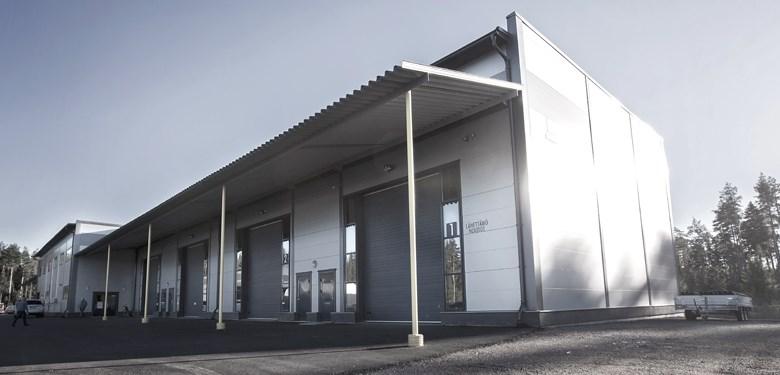 Teollisuushalli